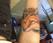 Great design fox tattoos
