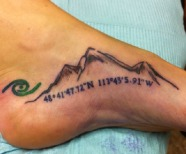 Great foot tattoos design