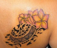 Hawaiians styles tattoos