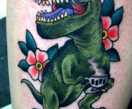 Incredible dinosaurs tattoos