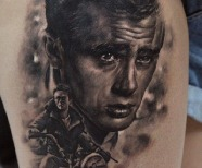 James Dean tattoo