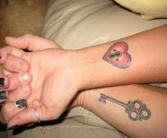 Key Tattoos For Men