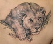 King of animals tattoos