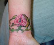 Lock tattoos
