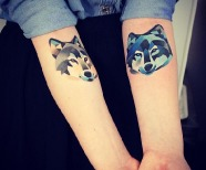 Lovely fox tattoos