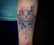 Mandala style tattoos