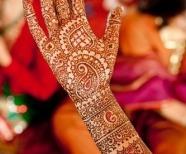 Mehendi style tattoos