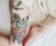 Nature style tattoos