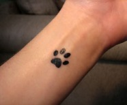 Paw Print Tattoo Meaning