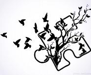 Puzzle Piece Tattoo Designs