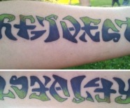 Respect And Loyalty Tattoo