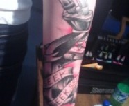 Rob Dyrdek Relentless Tattoo