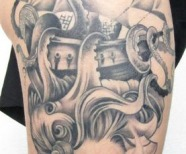 See and ships tattoos