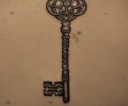 Skeleton Key Tattoo Meaning
