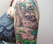 Sloth tattoos