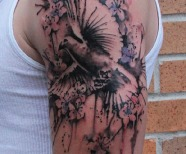 Sweet dove tattoos
