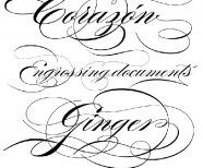 Tattoo Script Font Maker