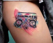 Tattoos by Candelaria Carballo
