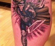 The X-men tattoos