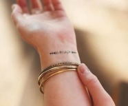 Totally inspiring wrists tattoos