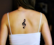 Treble Clef Tattoos