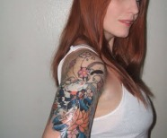 Women Half Sleeve Tattoos