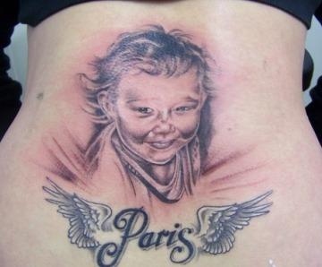 Awesome Paris tattoo
