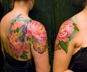 Butterflies tattoos on arm