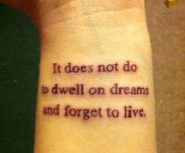 Cool quotes tattoos