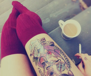 Cool tattoos with animals