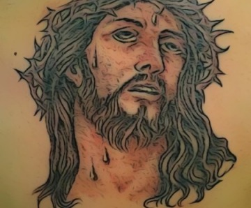 Crown Of Thorns Tattoos