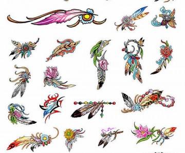 Eagle Feather Tattoo Designs