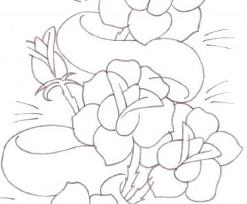 flower designs for tattoos