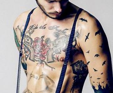 Gorgeous men's sleeves tattoos