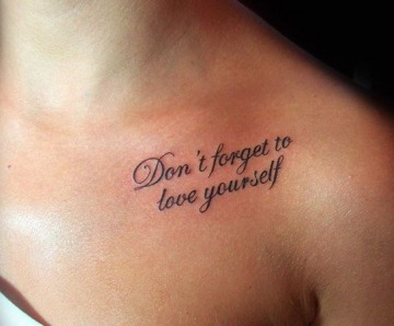 Incredible black quotes tattoos