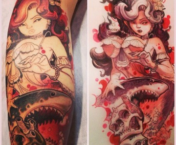 Jee Sayalero tattoos