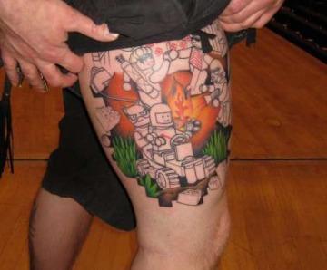 Lego star wars tattoos