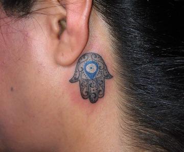 Lovely eyes tattoos
