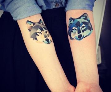 Lovely fox tattoos