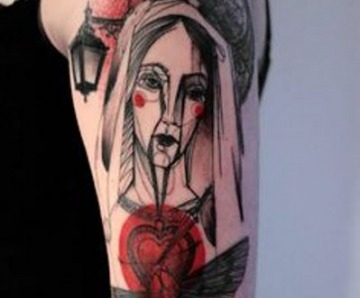 Marta Lipinski tattoos