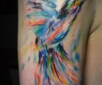 Painting tattoos