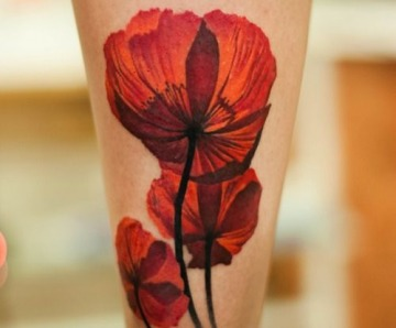 Red tattoo pictures