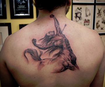 Sagittarius tattoos