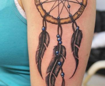 small Dreamcatcher Tattoos