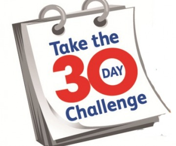 Take the 30-day challenge