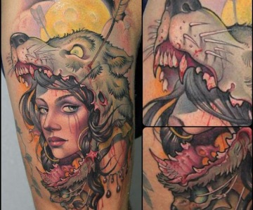 Tattoos by Victor Chil