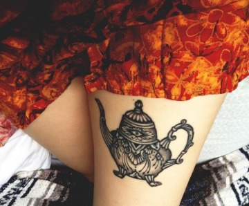 Teapot tattoos