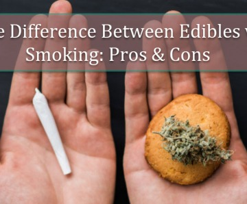 The Difference Between Cannabis Edibles vs Smoking Cannabis