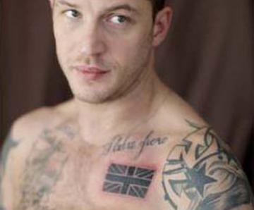 Tom Hardys Tattoos