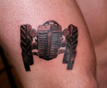 Tractor tattoos